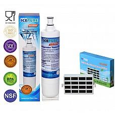 Bauknecht SBS003 Waterfilter + HYG001 Antibacteriele Luchtfilter van Icepure