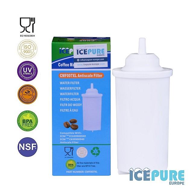 Boretti Waterfilter Barista BAC208 van Icepure CMF007XL