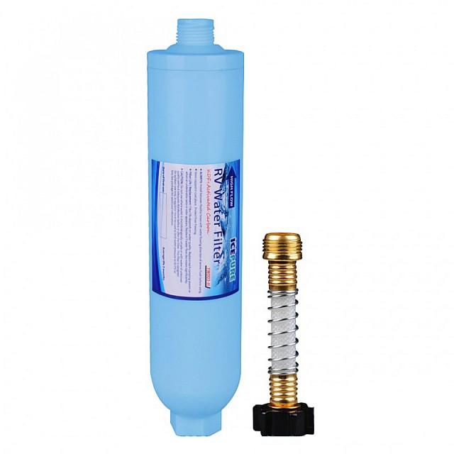 Caravan Waterfilter / Camper Waterfilter MET Slang van Icepure YW003-H