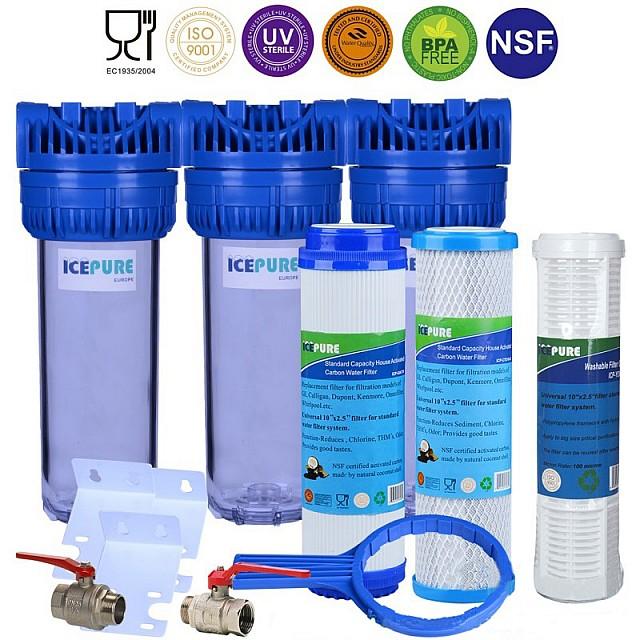 Waterfilter Voor Regenwater Met Wasbare Filter