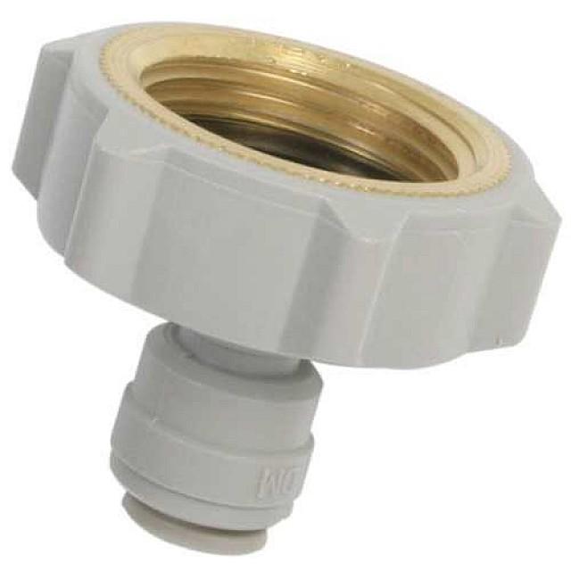 Kraannippel Voor Wasmachinekraan   10mm slang
