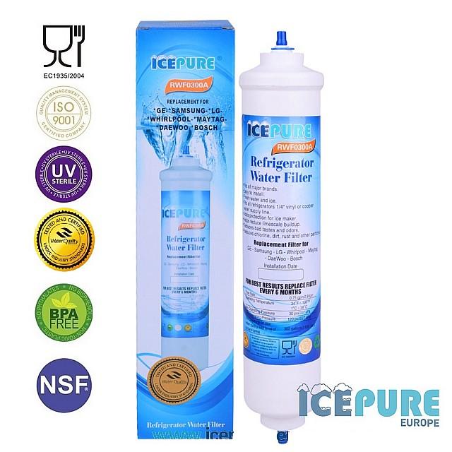 Haier 0060823485A Waterfilter van Icepure RWF0300A