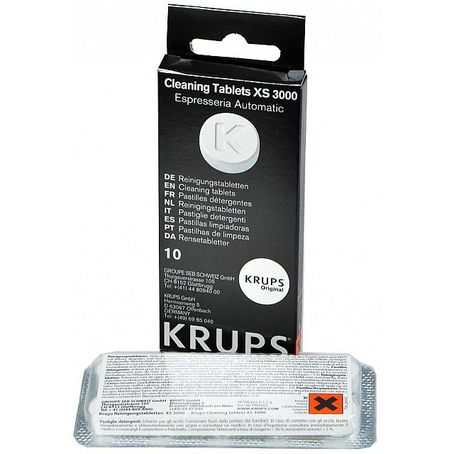 Krups XS3000 Reinigingstabletten