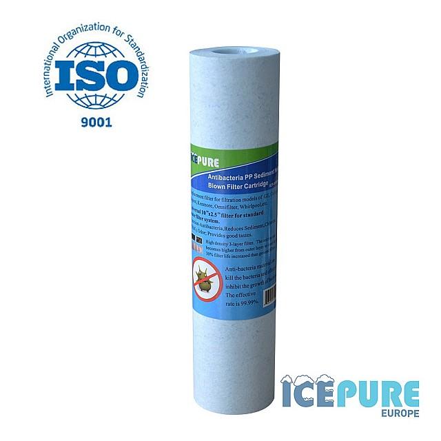 Sedimentfilter Anti-Bacterieel 5 Micron van Icepure ICP-YPP10