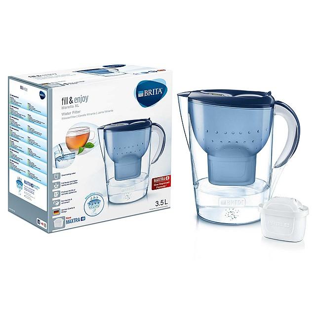 Brita Waterfilterkan Marella XL Blauw